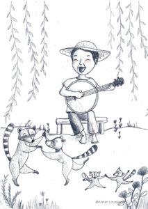 illustration_décoration_enfant_gargon_bonjo_raton_atelier_lousparel