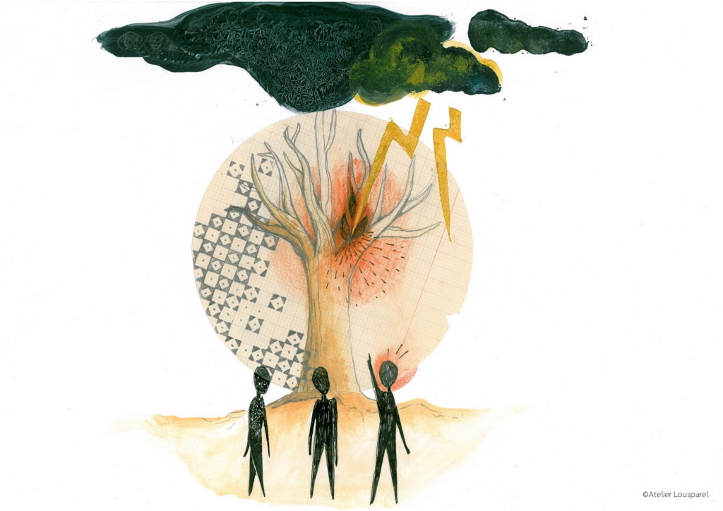 histoire_illustration_enfant_kamishibai_jeu_morale_écologique_imprimé_france_feu_homme_atelier_lousparel_art_peinture (1)