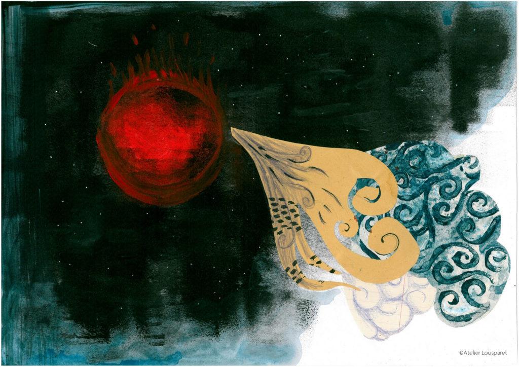 histoire_illustration_enfant_kamishibai_jeu_morale_écologique_imprimé_france_feu_homme_atelier_lousparel_art_peinture (5)