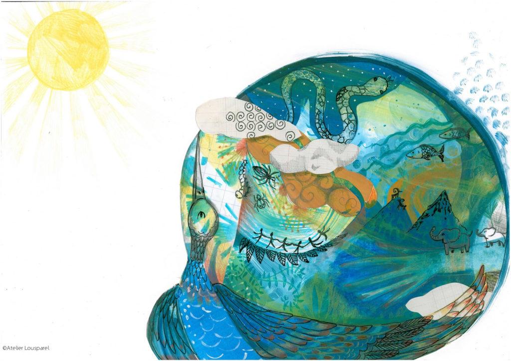 histoire_illustration_enfant_kamishibai_jeu_morale_écologique_imprimé_france_feu_homme_atelier_lousparel_art_peinture (11)