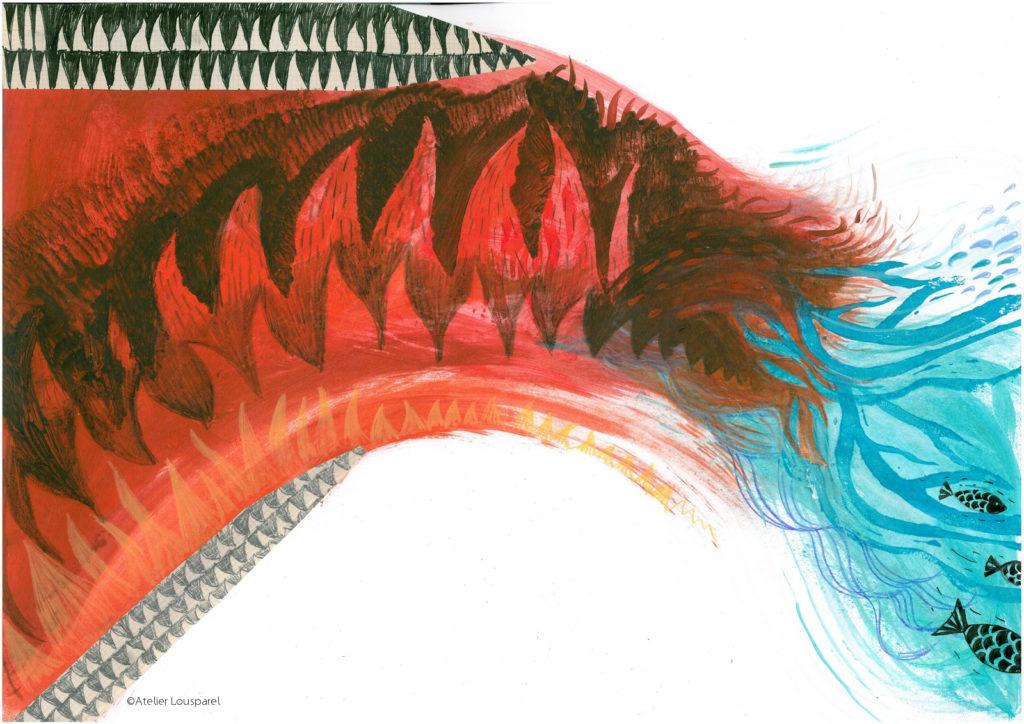 histoire_illustration_enfant_kamishibai_jeu_morale_écologique_imprimé_france_feu_homme_atelier_lousparel_art_peinture (3)
