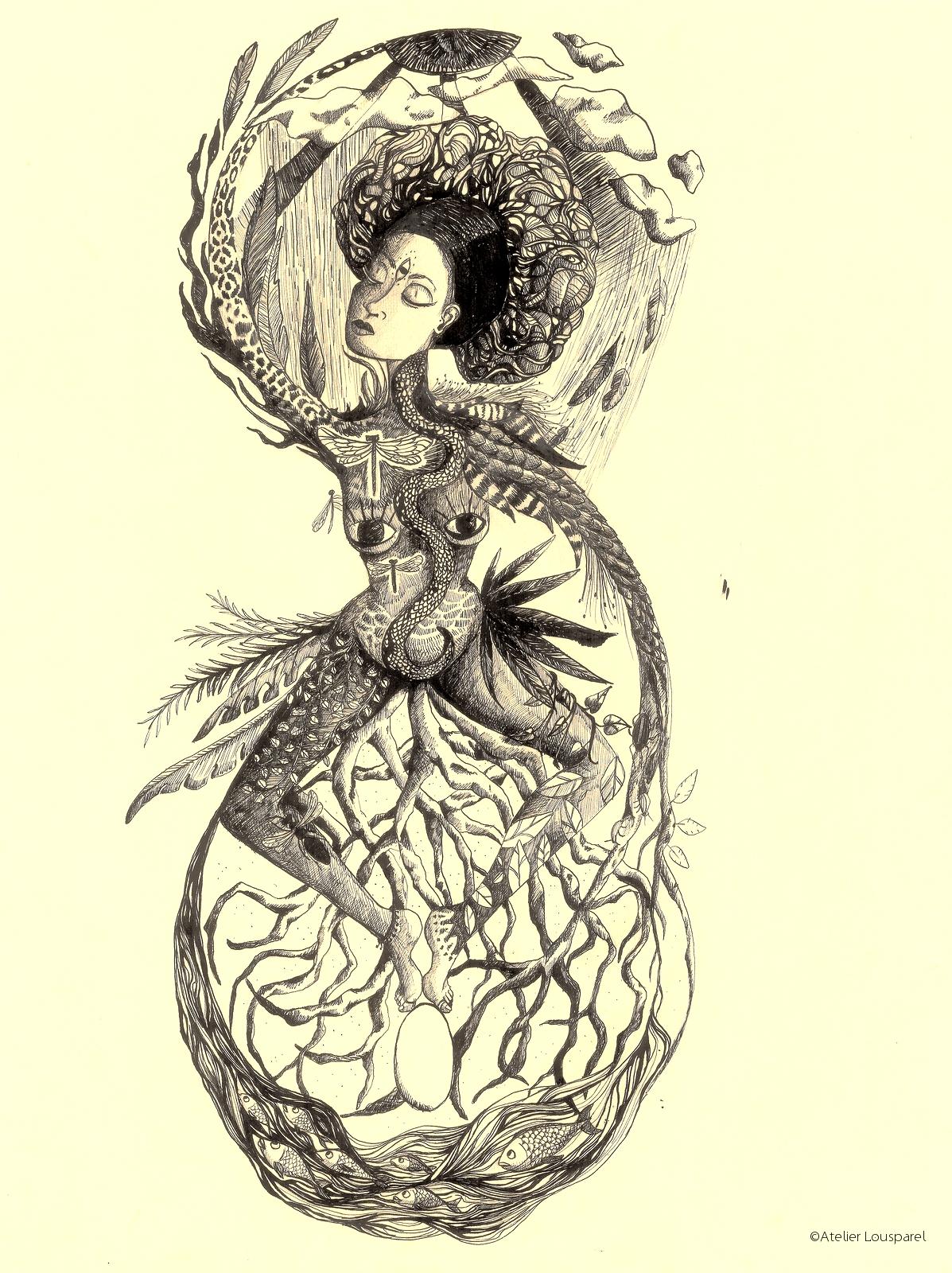 Affiche •la terre mère•