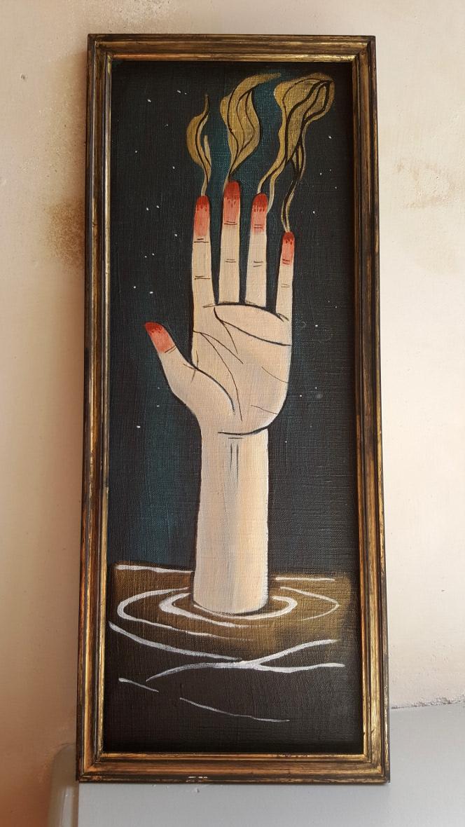 La main et le feu